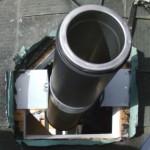 ④③と同じく角が取れた形で穴を空けています。